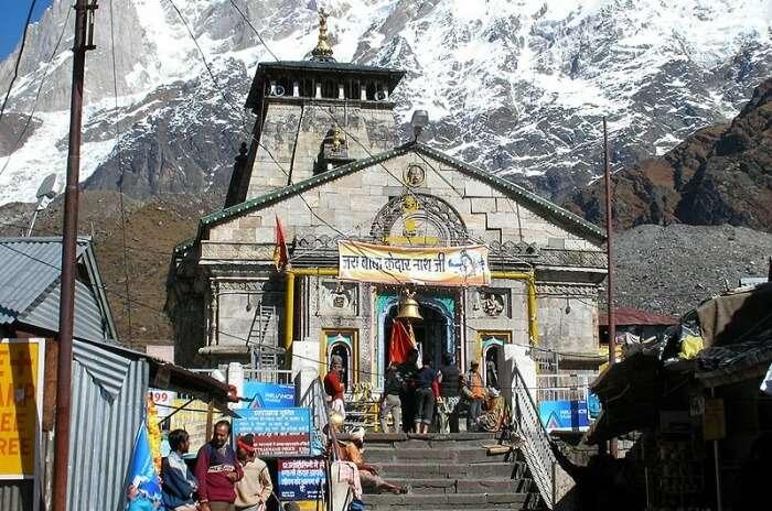 Lord Shiva by the banks of Mandakini