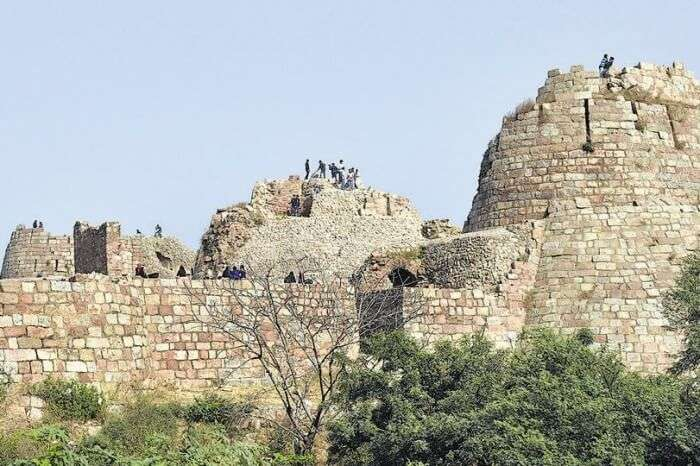 Tughlaqabad Fort History