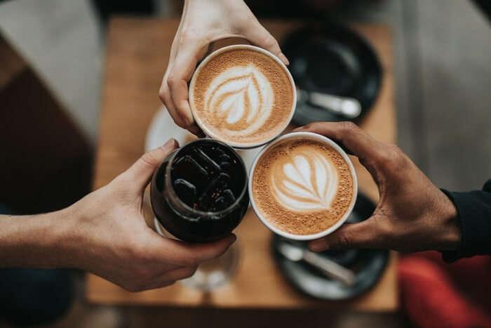 coffee and chocolate shake