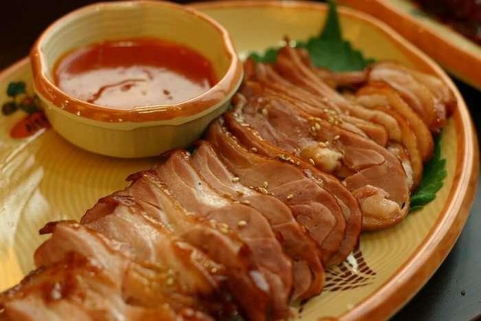 A dish at a restaurant in Sembawang
