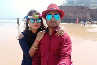 cover - Amit Honeymoon trip to Goa