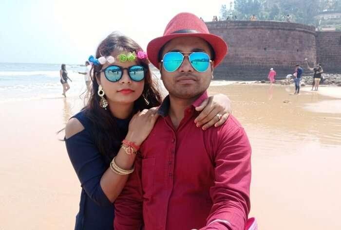 cover - Amit Honeymoon trip to Goa