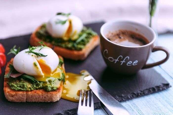 eggs toast