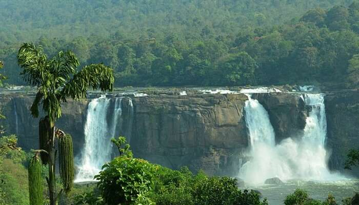 Athirappilly Waterfalls View