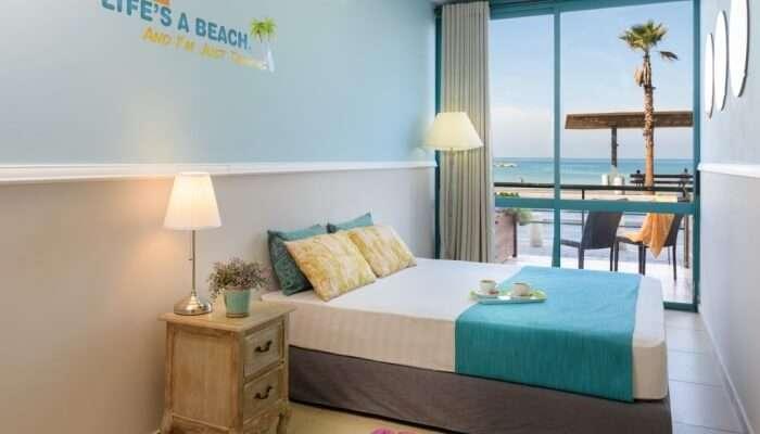 Beachfront Hostel View
