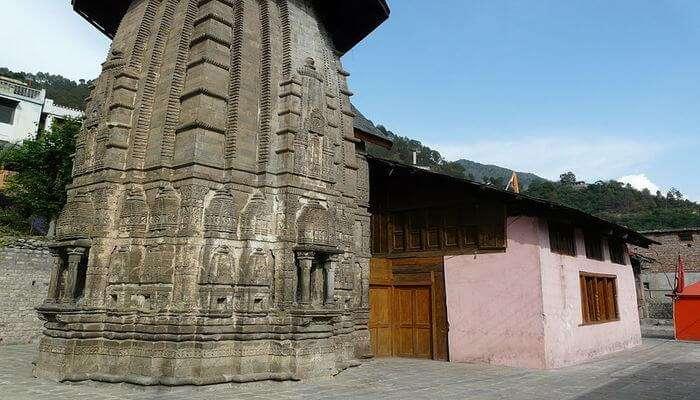 Champavati Temple View