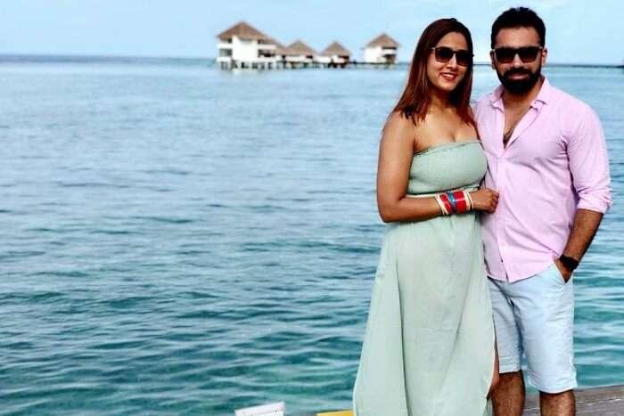 Cover - Ruchi honeymoon trip to maldives