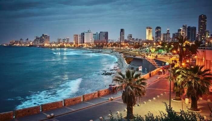 Tel Aviv Turvallisuus