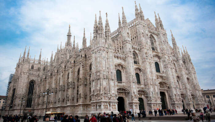 Biggest Cathedral in Milan, Duomo