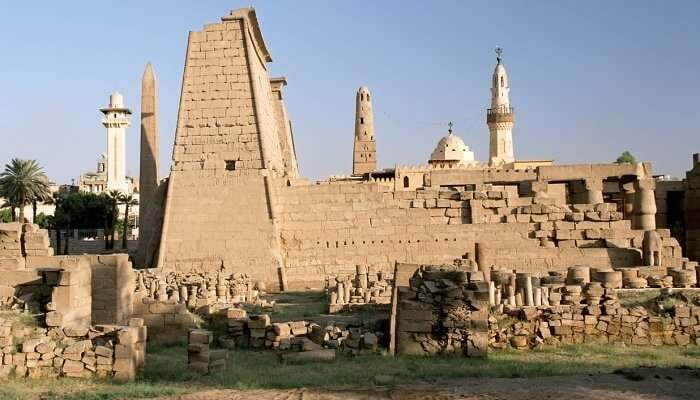 East And West Bank Of Luxor