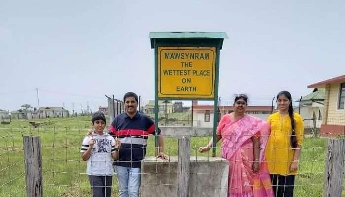 Family trip Assam
