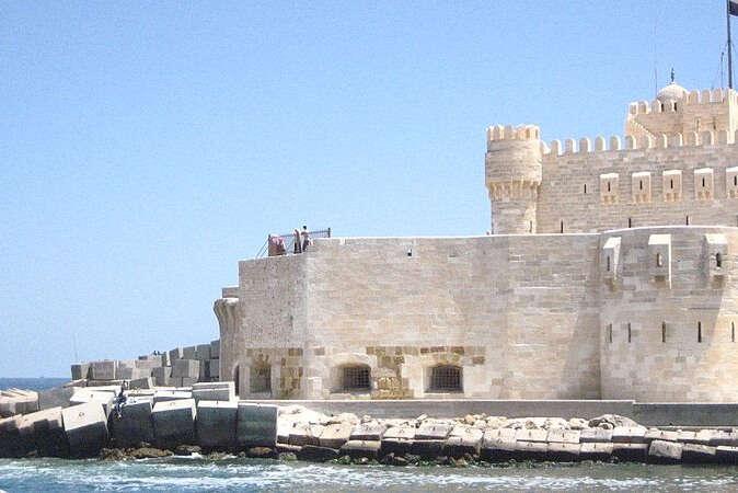 Panoramic view of the Mediterranean sea