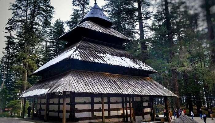 Devi Temple View