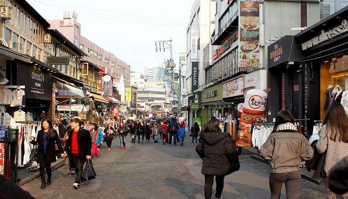 Hongdae Shopping Area