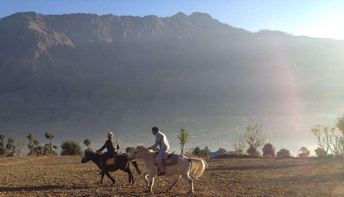 Horseback Ride At Steppes