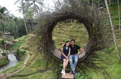 Cover - Abhinav's honeymoon trip to Bali