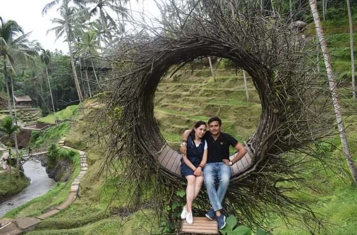 Cover - Abhinav's honeymoon trip to Bali