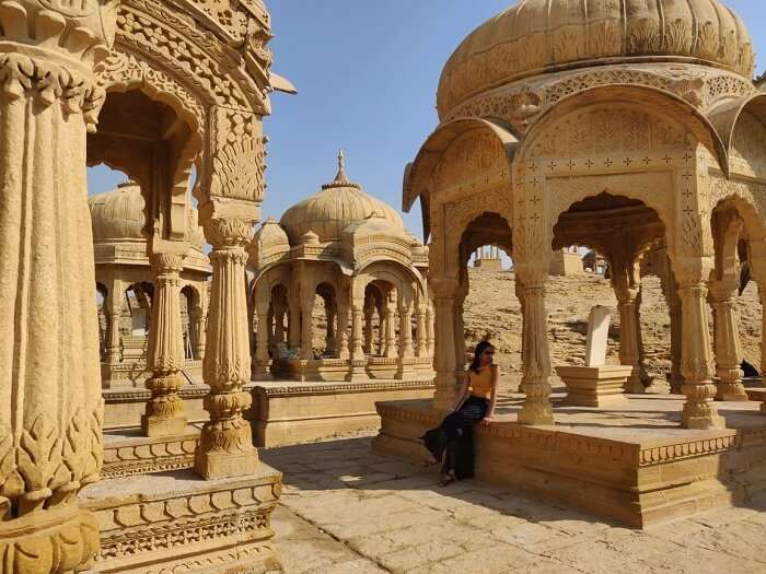 the Jaisalmer Fort