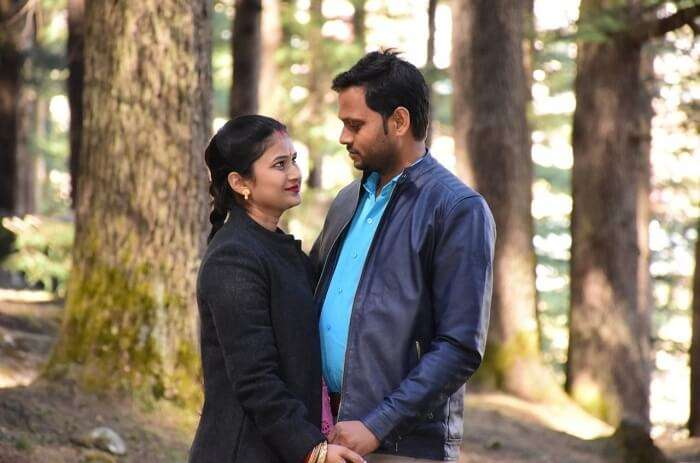 Cover - Pandouria's Honeymoon Trip to Himachal