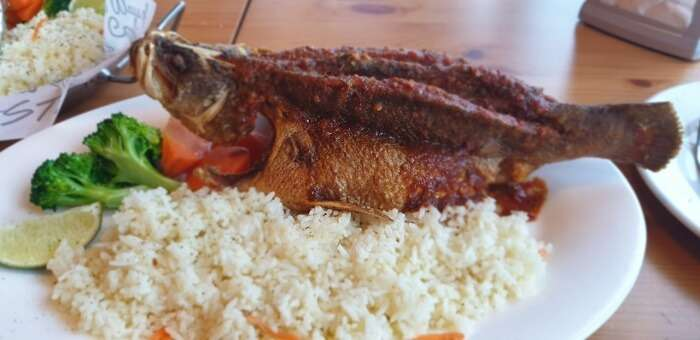 Karimeen fish dishes