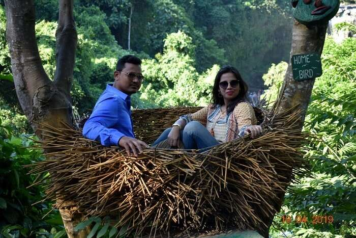 a trip to Ubud village