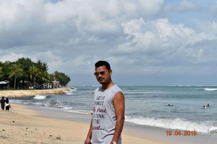 visited the Kuta beach