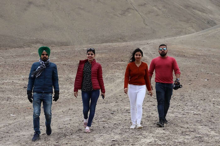 leh trip with friends