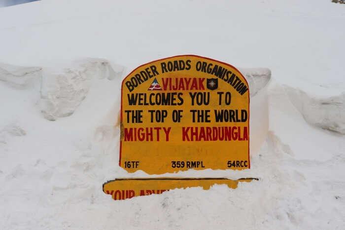 Khardungla Pass