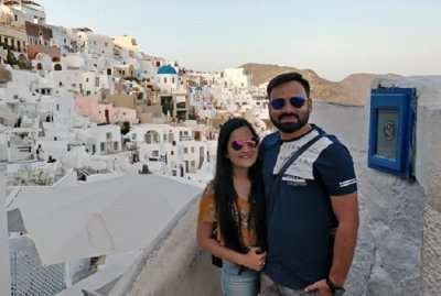 Cover - Rishi 's Honeymoon Trip To Greece