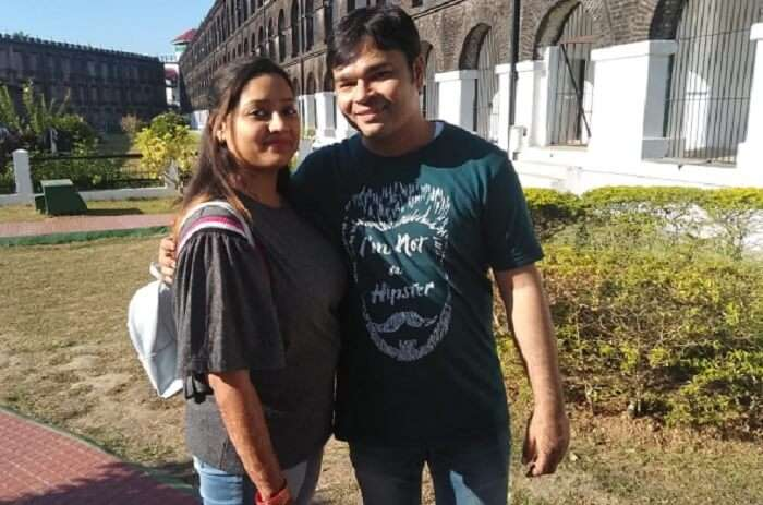 Cover - Taruni's honeymoon trip to Andaman