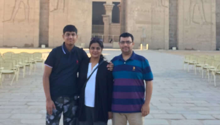 fascinated with Egypt's history