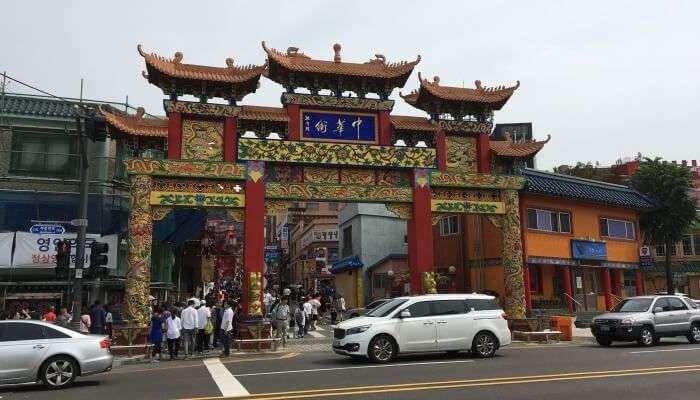 Incheon's Chinatown