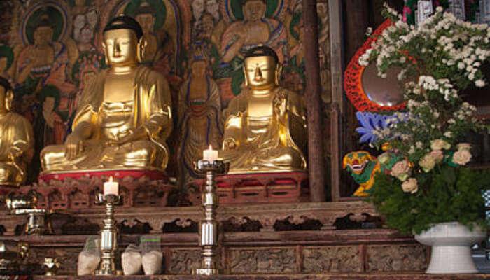 Jeondeungsa Temple In Incheon