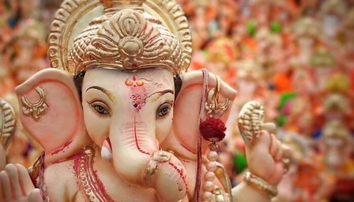 Religion Statue Idols Lord Ganesha Ganapati