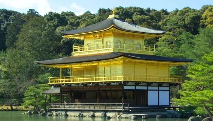 A building with Japanese architecture