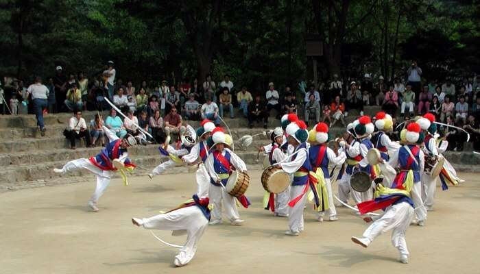 Korean Folk Village Near Seoul