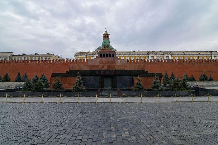 Lenin's Mausoleum in Moscow