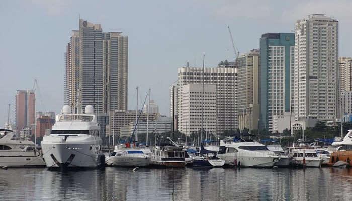 Manila Bay In Manila