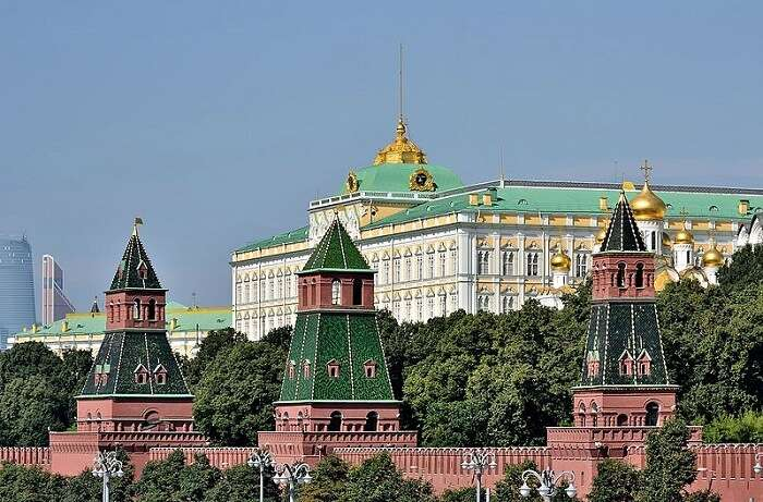 Moscow Kremlin in Moscow