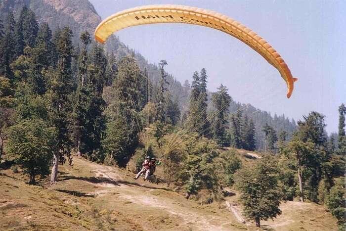 Paragliding At Denpasar
