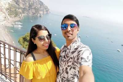 cover- Gourav honeymoon trip to Europe