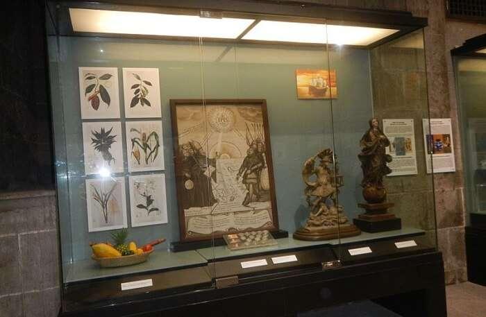 San Agustin Museum View
