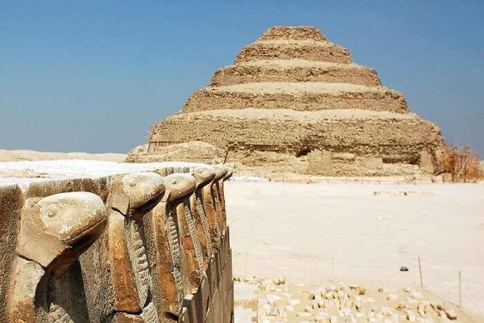 Home to the other pyramids