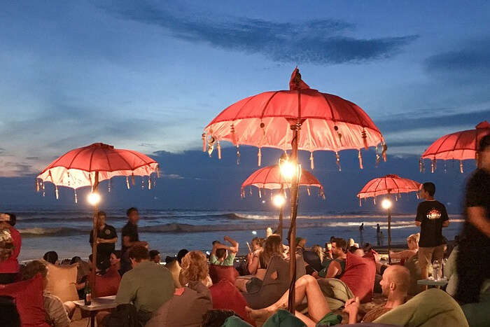 4 Most Happening Places To Visit Near Green Bowl Beach Bali For Party