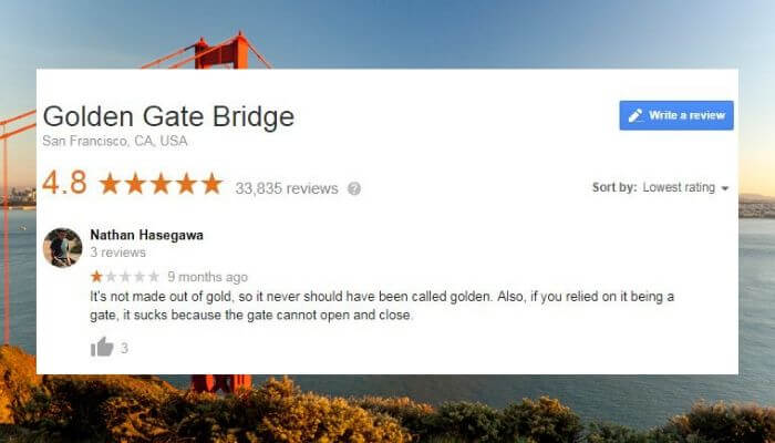 These 13 Absurd Reviews Of World-Famous Tourist Destinations Will Have You In Stitches
