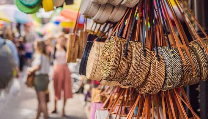 pretty handbags in bali