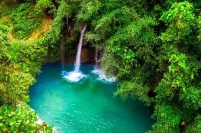 Beautiful Cebu Waterfalls