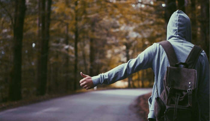 By Hitchhiking