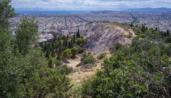 Climb Filopappou Hill