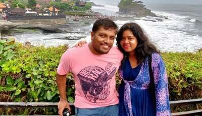 Cover- Sudha romantic trip to Bali